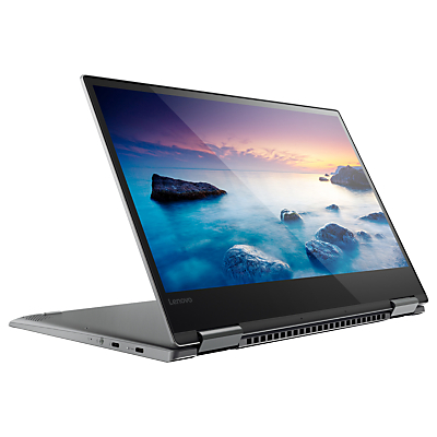 "Image of Lenovo Yoga 720 Convertible Laptop with Active Pen, Intel Core i5, 8GB RAM, 128GB SSD, 13.3"" Full HD, Iron Grey"
