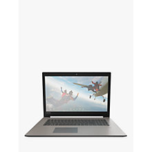 "Buy Lenovo IdeaPad 320 81BJ003BUK Laptop, Intel Core i7, 8GB, 1TB HDD, GeForce MX150, 17.3"", Grey Online at johnlewis.com"