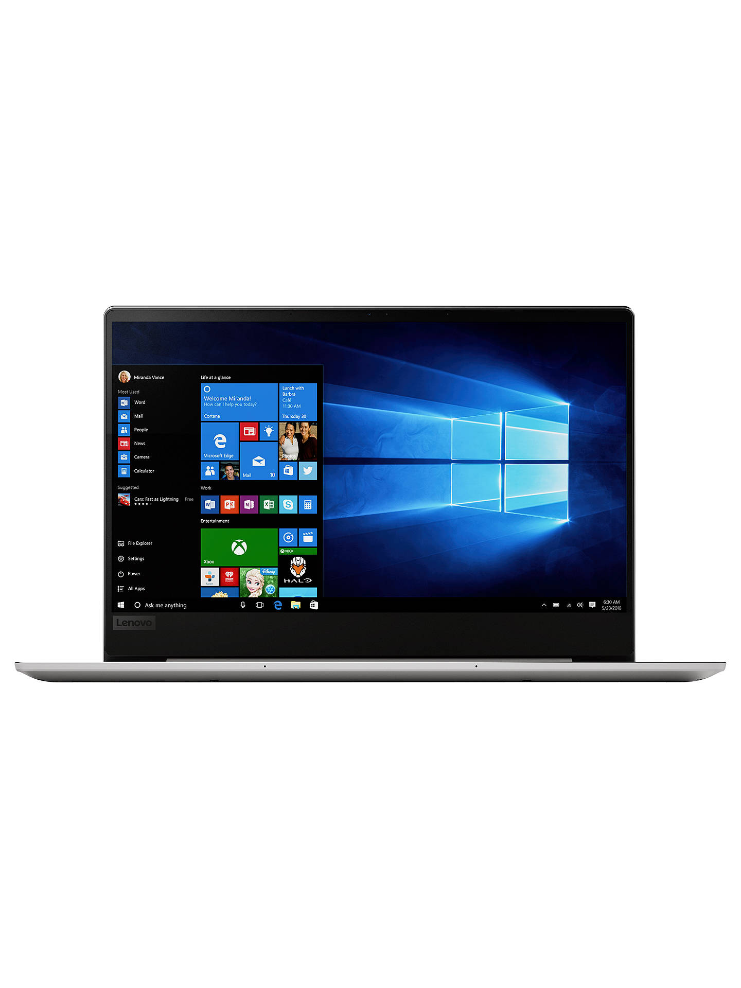 Lenovo IdeaPad 720S 81BR000BUK Laptop, AMD Ryzen 7, 8GB, 256GB M 2