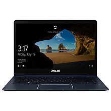"Buy ASUS Zenbook UX331UN-EG002T Laptop, Intel Core i7, 8GB, 512GB SSD, GeForce MX150, 13.3"", Royal Blue Online at johnlewis.com"