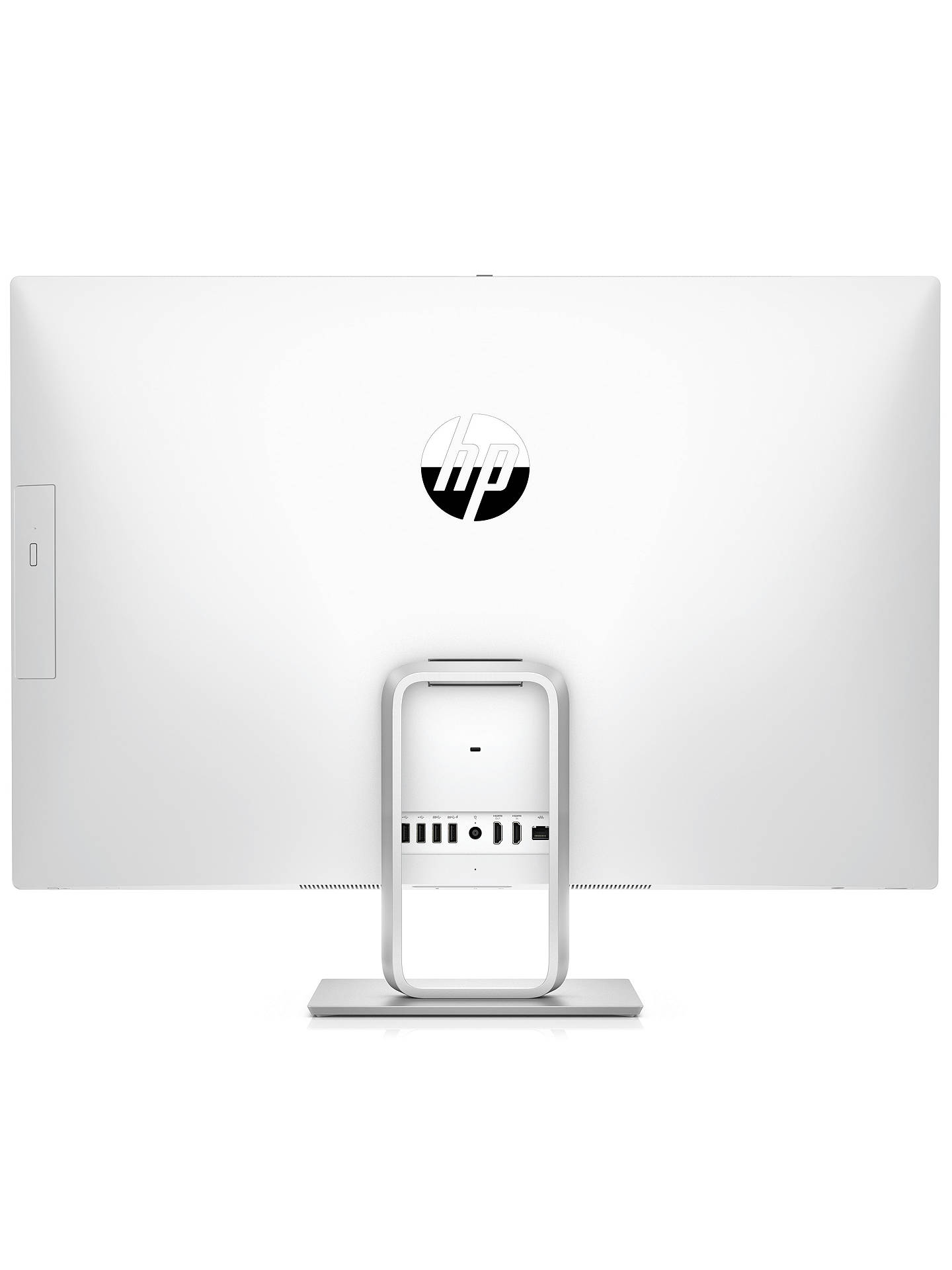 "BuyHP Pavilion 27-R059NA All-in-One PC, Intel Core i5, 16GB, 2TB HDD, 27"", White Online at johnlewis.com"