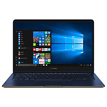 "Buy ASUS Zenbook Flip S UX370 Laptop, Intel Core i7, 8GB, 512GB SSD, 13.3"", Royal Blue Online at johnlewis.com"