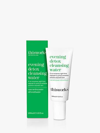 This Works Evening Detox Cleansing Water, 200ml