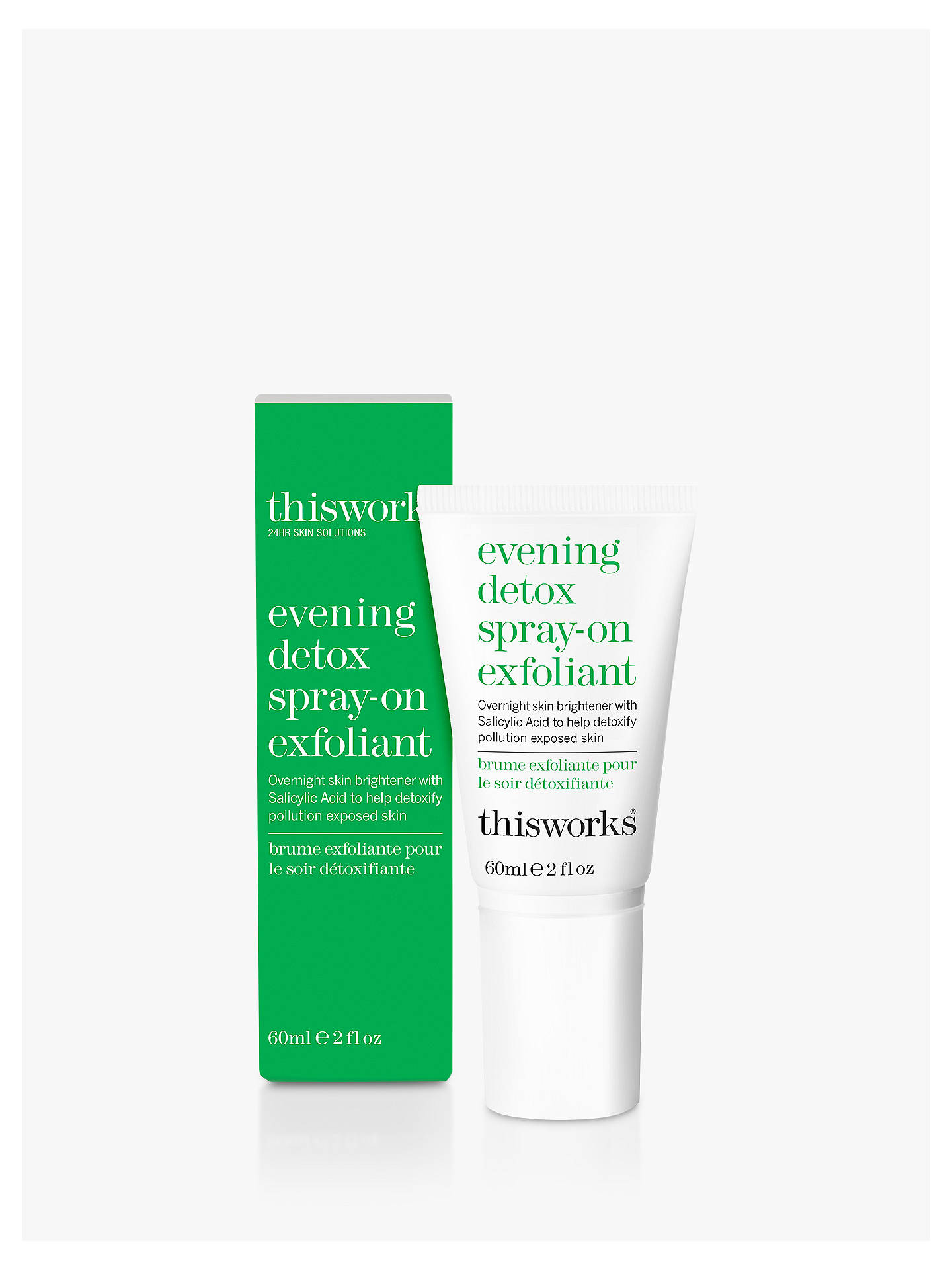 BuyThis Works Evening Detox Spray On Exfoliant, 60ml Online at johnlewis.com