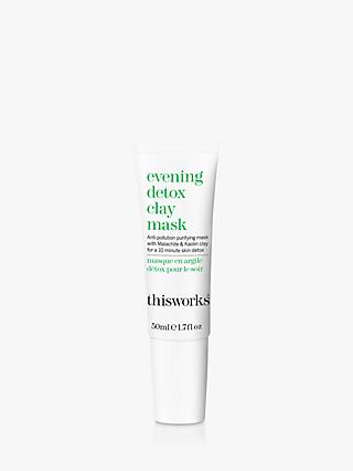 This Works Evening Detox Clay Mask, 50ml