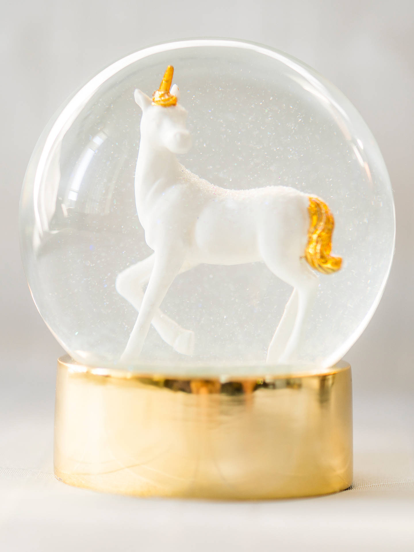 Buy Talking Tables We Heart Unicorns Snow Globe Online at johnlewis.com