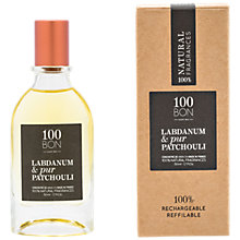 Buy 100BON Labdanum Et Pur Patchouli Eau de Parfum Concentré, 50ml Online at johnlewis.com
