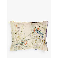 Buy Voyage Chaffinch Cushion, Multi Online at johnlewis.com