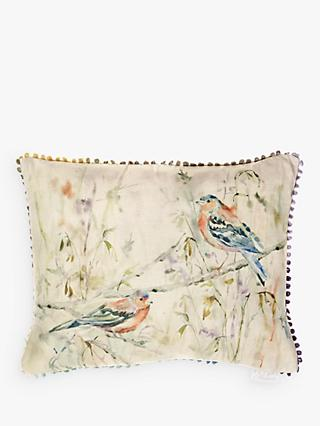 Voyage Chaffinch Cushion, Multi