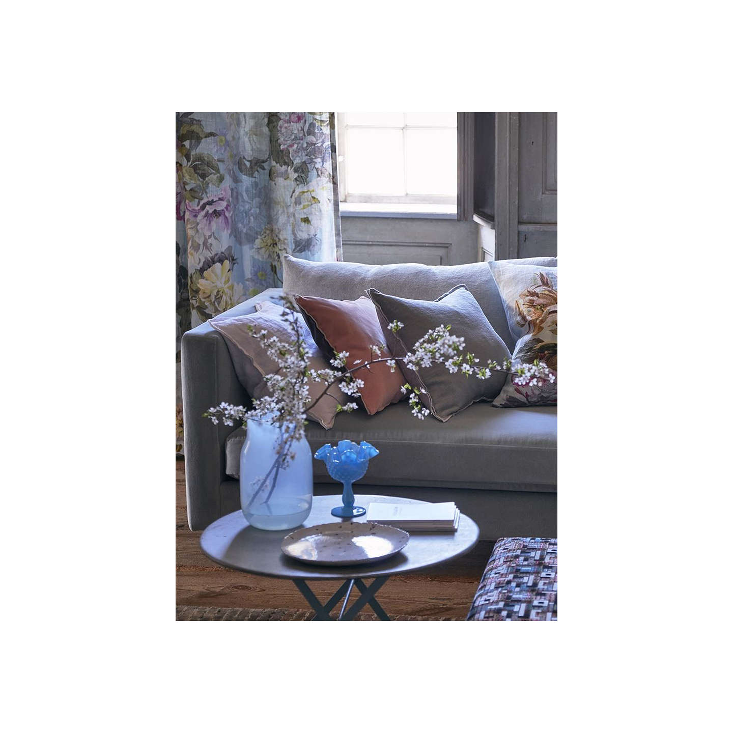 BuyDesigners Guild Varese Cushion, Cameo Online at johnlewis.com