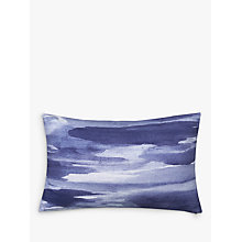 Buy John Lewis Watercolour Seascape Cushion Online at johnlewis.com