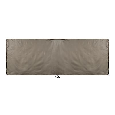 John Lewis & Partners Outdoor Furniture Modular Lounging Set Cover, Grey