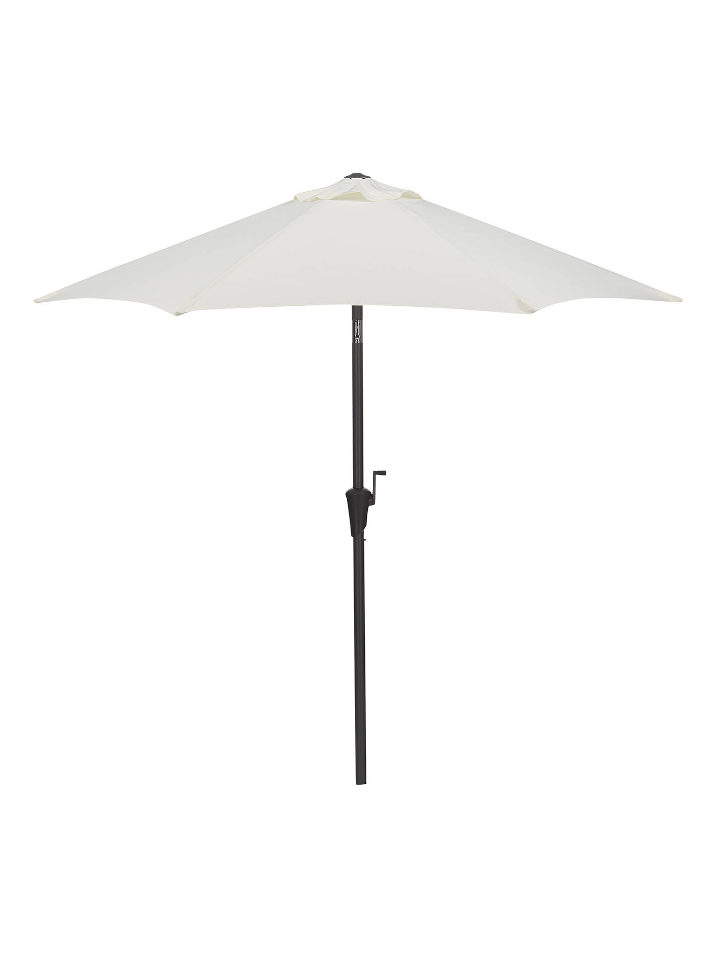 John Lewis & Partners 2.2m Parasol, Oyster