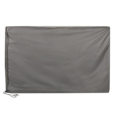 John Lewis & Partners 6-8 Seater Outdoor Rectangular Furniture Set Cover, Grey