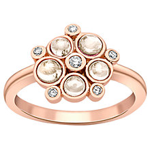 Buy London Road 9ct Gold Diamond Bubble Cluster Ring Online at johnlewis.com