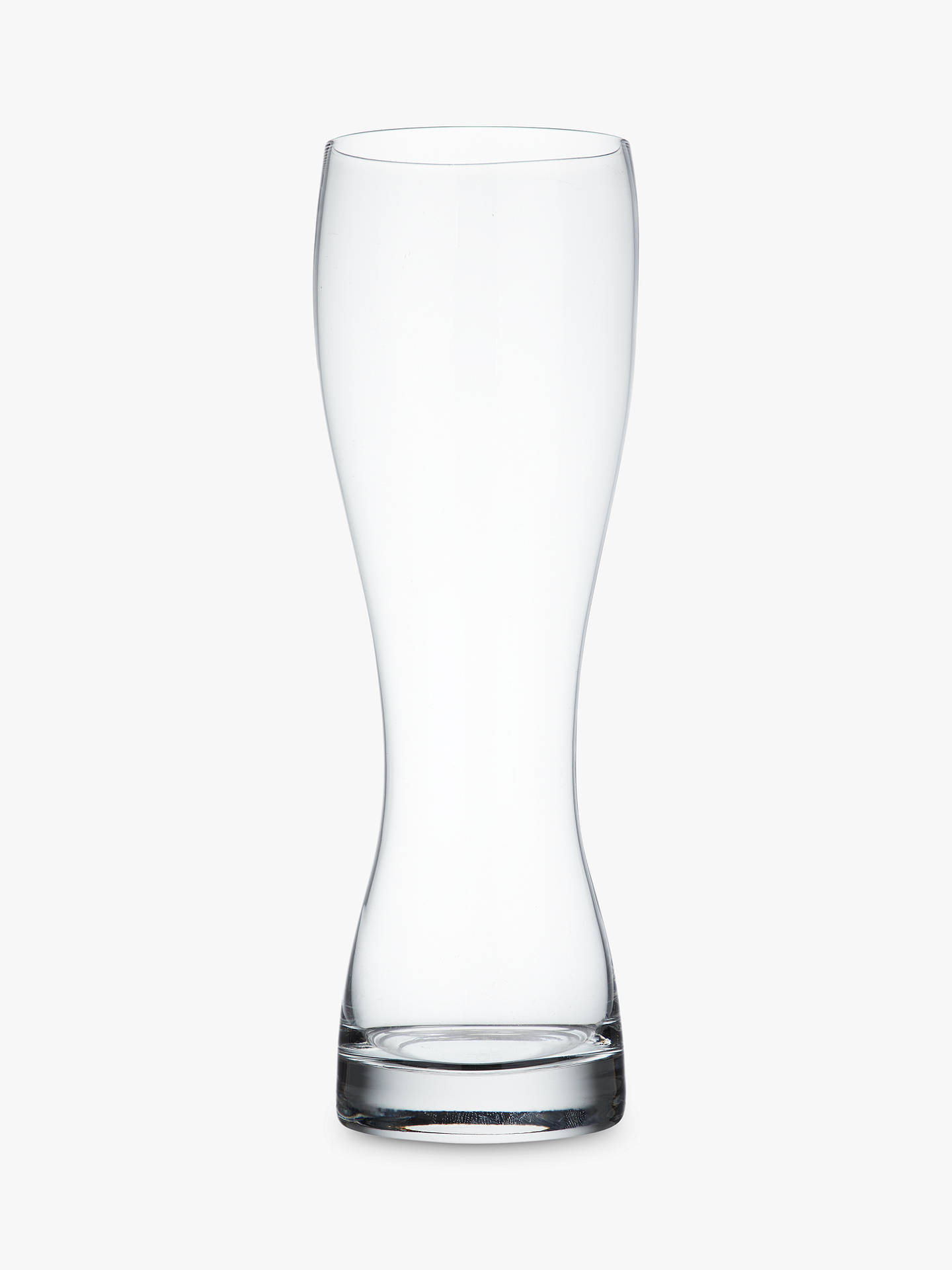 BuyJohn Lewis & Partners Cellar Wheat Beer Glasses, Clear, 670ml, Set of 2 Online at johnlewis.com