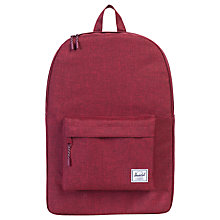Buy Herschel Supply Co. Classic Backpack, Wine Online at johnlewis.com