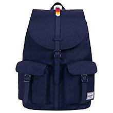 Buy Herschel Supply Co. Dawson Backpack, Blue Online at johnlewis.com