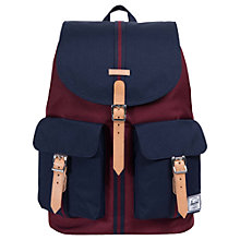 Buy Herschel Supply Co. Dawson Backpack, Windsor Wine Online at johnlewis.com
