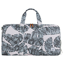 Buy Herschel Supply Co. Novel Mid Volume Holdall, Green Online at johnlewis.com