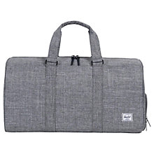 Buy Herschel Supply Co. Novel Mid Volume Holdall, Grey Online at johnlewis.com