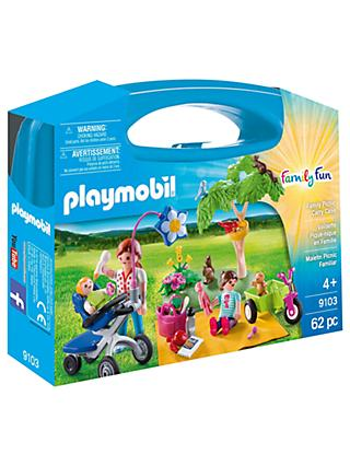 Playmobil Family Fun 9103 Family Picnic Carry Case