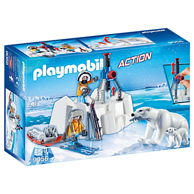 Playmobil Action 9056 Arctic Explorers With Polar Bears