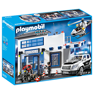 Click here for Playmobil City Action 9372 Police Station Mega Set