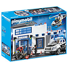 Buy Playmobil City Action 9372 Police Station Mega Set Online at johnlewis.com