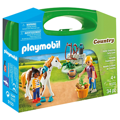 Image of Playmobil Country 9100 Horse Grooming Carry Case