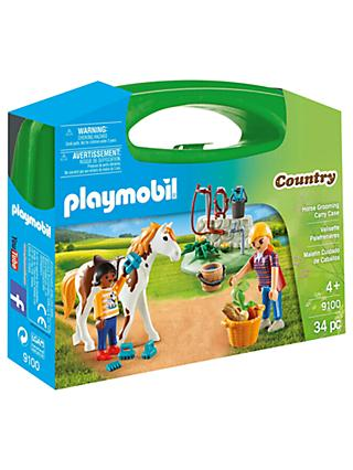 Playmobil Country 9100 Horse Grooming Carry Case