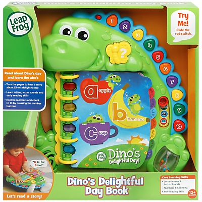 LeapFrog Dino's Delightful Day Electronic Book
