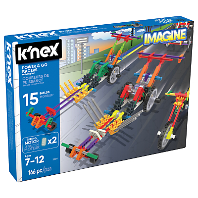 K'Nex 33017 Power & Go Racers Building Set