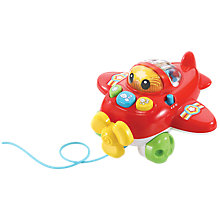 Buy VTech Baby Pull & Pop Aeroplane Online at johnlewis.com