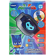 Buy VTech PJ Masks Super Catboy Learning Watch Online at johnlewis.com