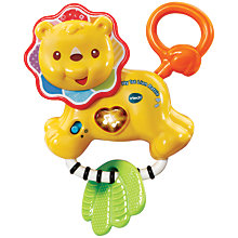 Buy VTech Baby My 1st Lion Rattle Online at johnlewis.com