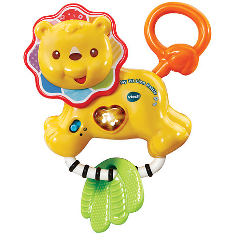 Buy vtech baby my 1st lion rattle john lewis buy vtech baby my 1st lion rattle online at johnlewis negle Image collections