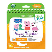 Buy LeapFrog LeapStart Playing Together: A LeapStart Storybook Online at johnlewis.com