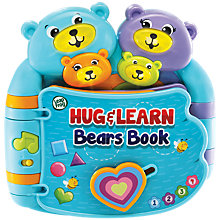 Buy LeapFrog Hug & Rhyme Bears Electronic Book Online at johnlewis.com