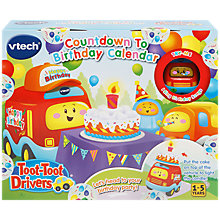 Buy VTech Toot-Toot Drivers Birthday Countdown Calendar Online at johnlewis.com