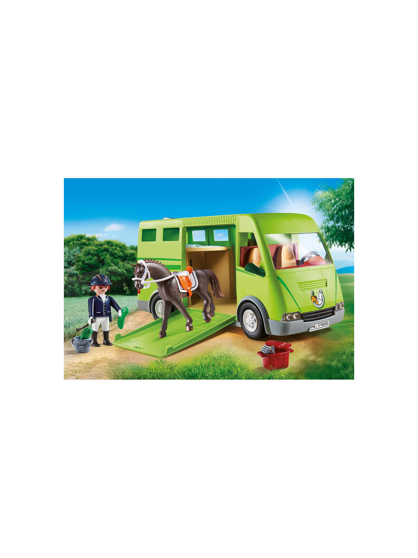 Buy Playmobil Country 6928 Horse Box Online at johnlewis.com