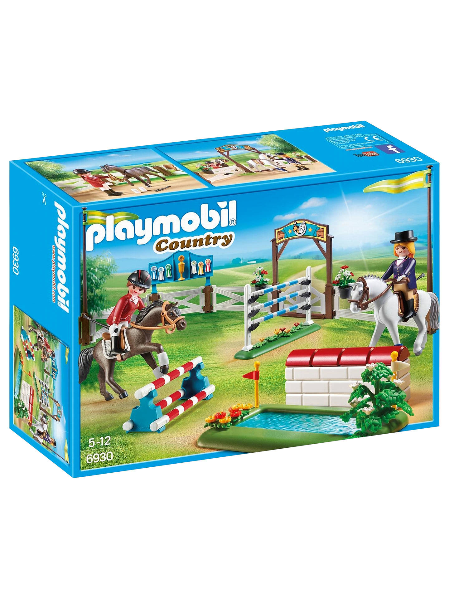 BuyPlaymobil Country 6930 Horse Show Online at johnlewis.com