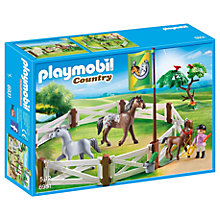 Buy Playmobil Country 6931 Horse Paddock Online at johnlewis.com