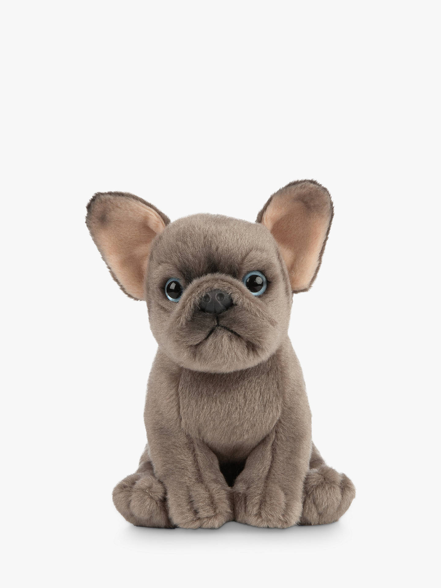Living Nature French Bulldog Puppy Plush Soft Toy At John Lewis