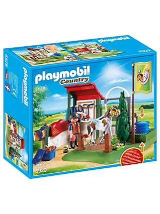 Playmobil Country 6929 Horse Groom Station