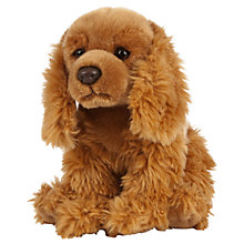 Buy Living Nature Cocker Spaniel Soft Toy Online at johnlewis.com