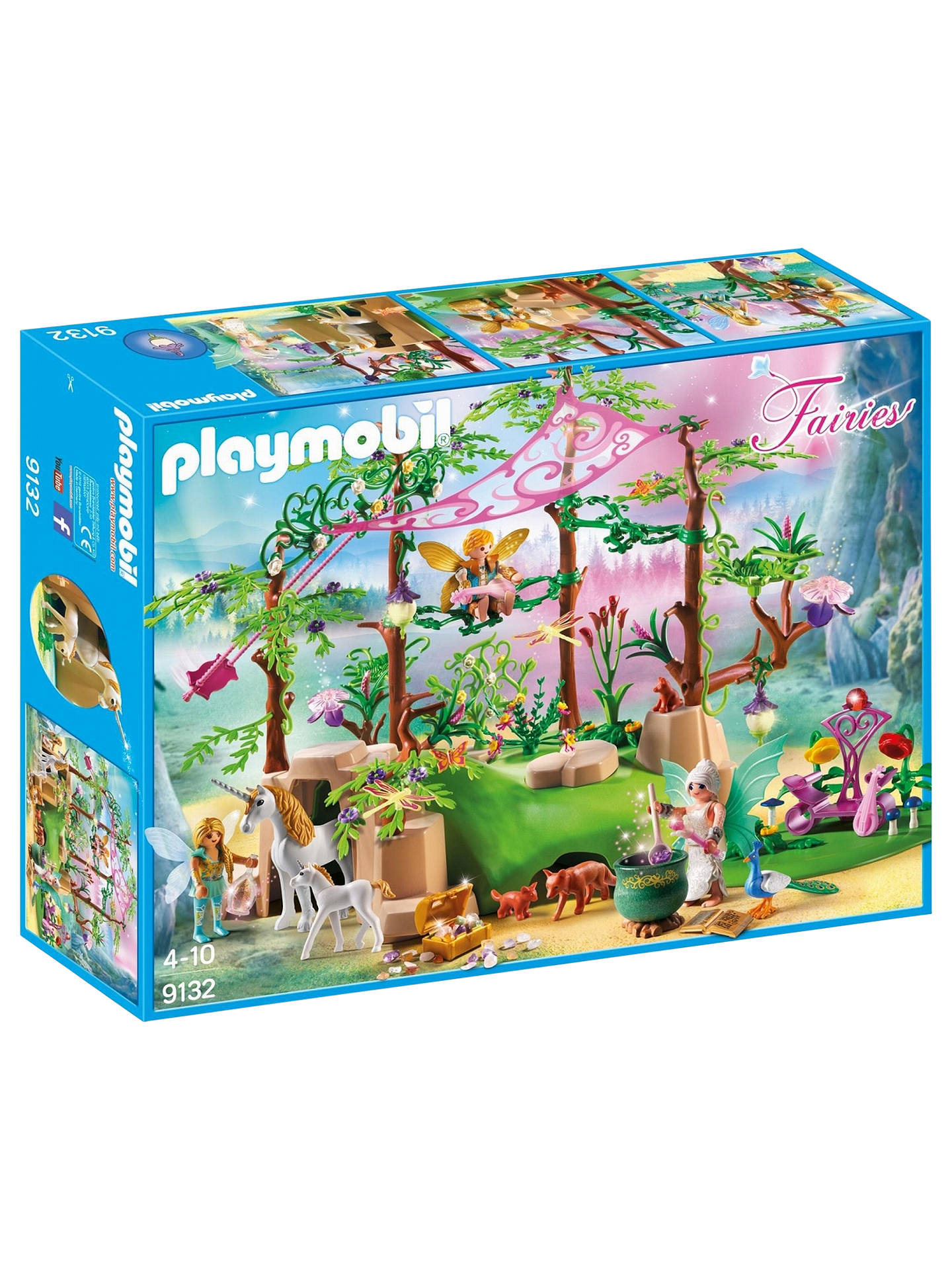 BuyPlaymobil Fairies 9132 Magical Fairy Forest Online at johnlewis.com