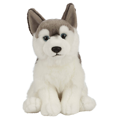 Image of Living Nature Husky Soft Toy