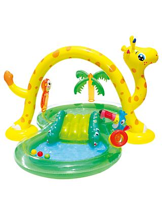 Summer Waves Inflatable Jungle Play Centre & Pool
