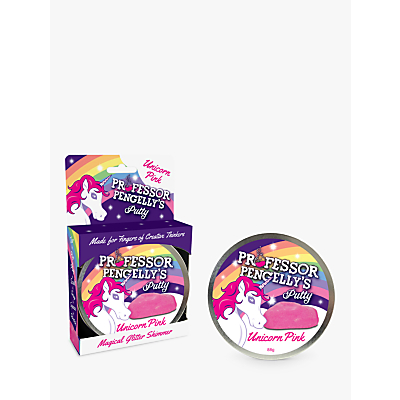 Image of RED5 Professor Pengelly's Putty, Glitter Unicorn Pink